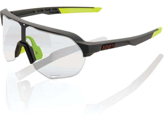 100% S2 Glasses soft tact cool grey/photochromic